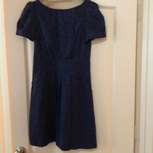Marc by Marc Jacobs Navy silk dress